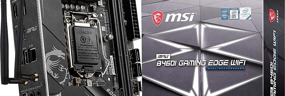 MSI MPG B460I GAMING EDGE WIFI w/ DDR4-2933, 7.1 Audio, Dual M.2, 2.5G LAN, Wifi