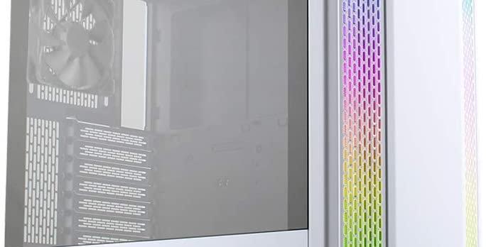 Lian Li LANCOOL II-W Tempered Glass ATX Case, White