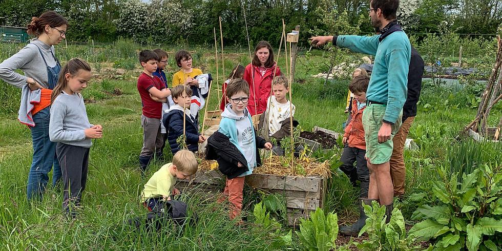 Atelier enfants : jardinage