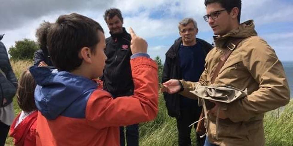 Visite familiale de la batterie allemande de Longues-sur-Mer