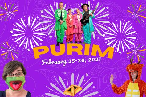 Amazing Adult Purim Evening Celebration