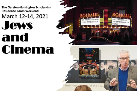 Scholar-in-Residence 2021: Jews and Cinema