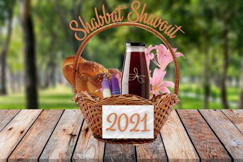 Shabbat-Shavuot Raffle
