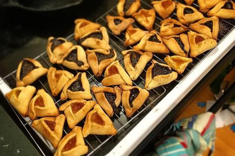 Hamantaschen Baking: Sweet & Savory