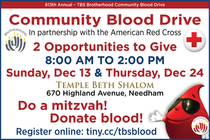 Join Us at the 613th Annual TBS Brotherhood Community Blood Drive!