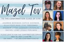 Confirmation 5781
