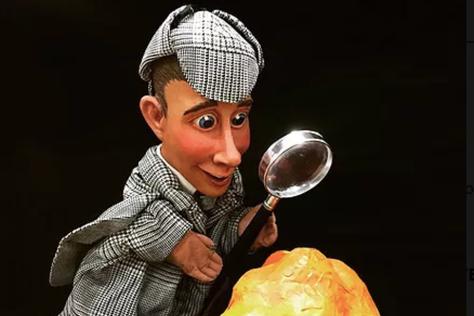 Hidden Matzah Puppet Show