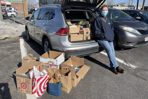 Hygiene Item Drive-Up Collection