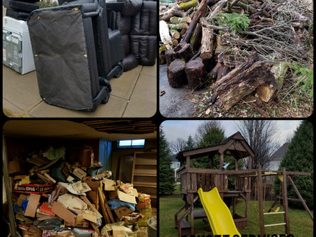 Furniture, Brush, Playgrounds and Basements...We clean it out and remove it all!