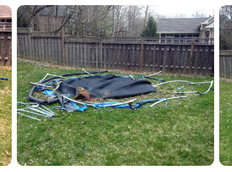 Trampoline Removal Indianapolis