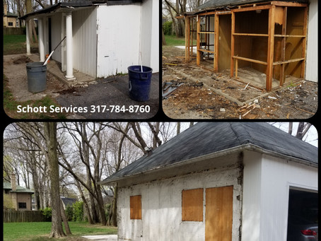 Light Demolition Services- We Serve All Of Indianapolis/ Surrounding Cities