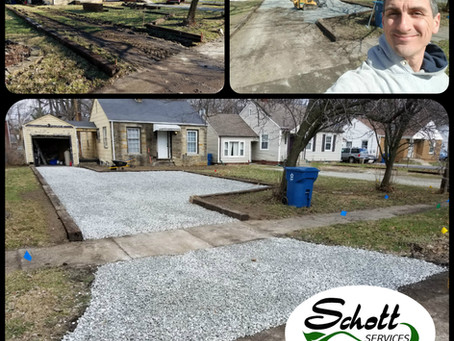 Gravel Driveway Update