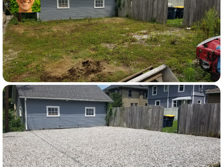 From Grassy To Awesome-Gravel Driveway/Parking Area Repair