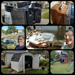 Let Schott Services haul away your junk in Mooresville. We provide swing set removal, hot tub removal and basketball goal removal in Mooresville.