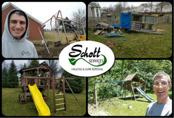 swing set removal Avon, swing set removal Brownsburg, swing set removal Plainfield, swing set removal Greenwood, swing set removal Mooresville, swing set removal New Palestine, swing set removal Carmel, swing set removal Noblesville, Schott Services, junk