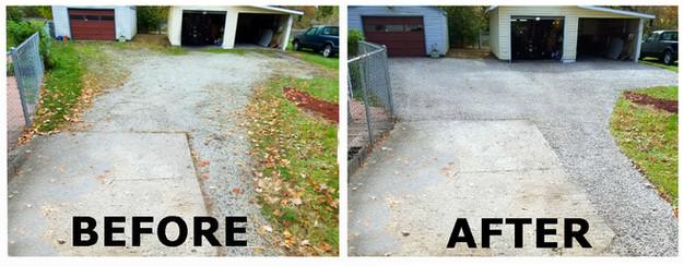 Gravel Driveway Repair In Irvington