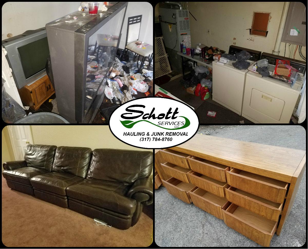 Hot Tub Removal Schott Services LLC Indianapolis - Sofa disposal