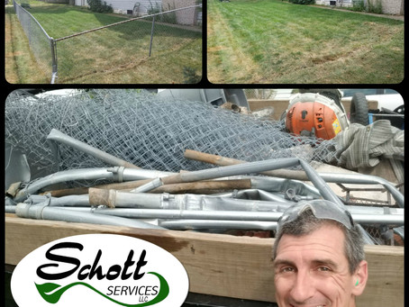 Chain Link Fence Removal Indianapolis and Surrounding Areas!