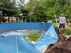 Above Ground Pool Removal Indianapolis Schott Services