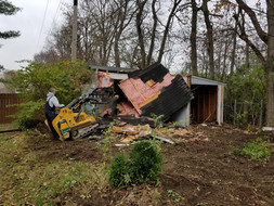 Mini Barn Demolition, Shed Removal