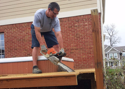 Schott Services provides deck removal  services in Indianapolis.