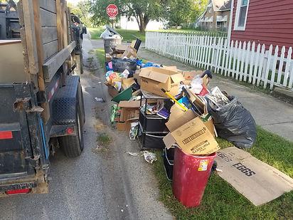 We provide curbside trash pickup, curbside junk pickup, heavy trash pickup, haul away my junk, junk removal, Schott Services, John Schott, haulig, light hauling, disposal,  junk removal Indianapolis, Carmel, Fishers, Zionsville, Greenwood