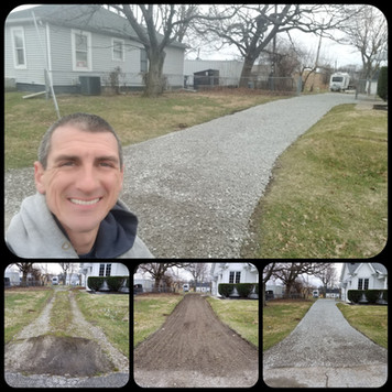Schott Services provides gravel driveway repair, gravel driveway resurfacing, gravel driveway installation in Indianapolis, Lawrence, Fishers, Carmel, Zionsville, Brownsburg, Avon, Plainfield, Mooresville, Greenwood, Whiteland, New Palestine and Cumbeland.