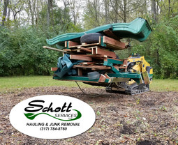 Schott provides swing set removal services in Indianapolis, Carmel, Fishers, Zionsville, Brownsburg, Avon, Mooresville, Greenwood.