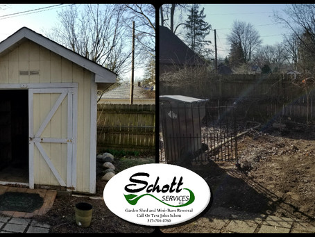 Shed Removal Expert!