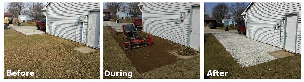 Gravel Driveway, Gravel Driveway Installation, Gravel Driveway Indianapolis, Indianapolis Gravel, Landscaping Indianapolis