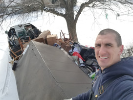Schott Service provides junk removal in Mooresville. Let us help with your trash removal, brush removal, property clean out and estate clean out.