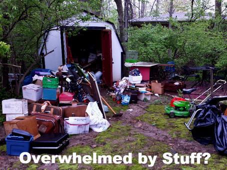 Storage Area Overflowing???