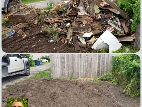 Alley Junk Removal & Clean Up