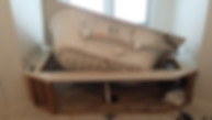 bathroom demolition, interior demolition, bathroom tear out, bathroom remodeling, interior demolition trash, junk removal,  bathroom vanity removal, tile removal, vinyl removal, shower demolition, tub removal, shower removal, Indianapolis, Carmel, Fishers