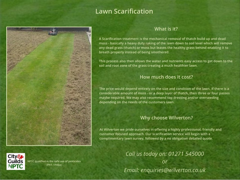 Spring scarification