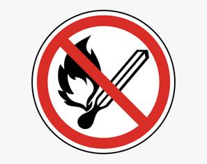 No Fires Reminder!!!