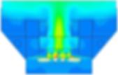 течения теплоносителя в условиях свободной конвекции пристационарной работе стенда
