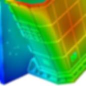 расчет нестационарных тепловых деформаций элементов конструкции