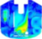 расчеты циркуляционных течений при свободной конвекции жидкого теплоносителя в реальной конструкции