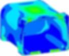 расчеты попрочности различных вариантов корпуса ЗМП