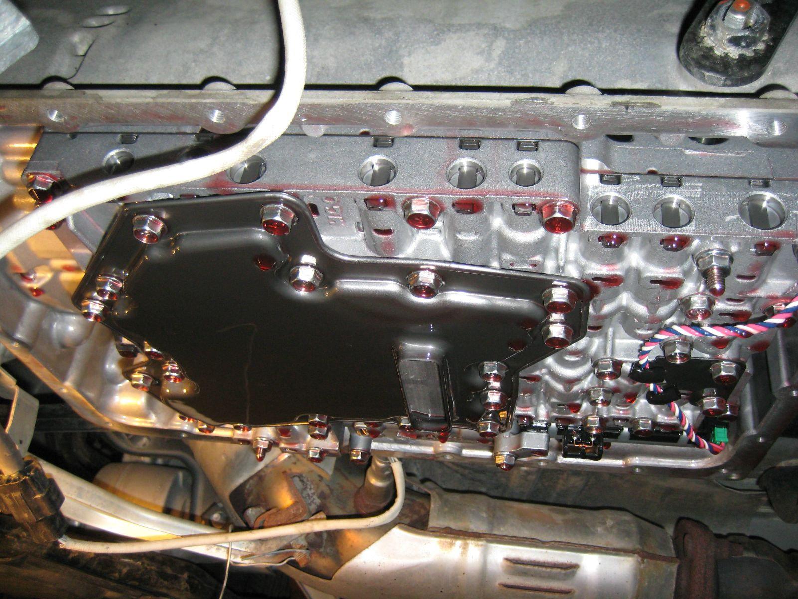 Transmission Fluid & Filter SUV