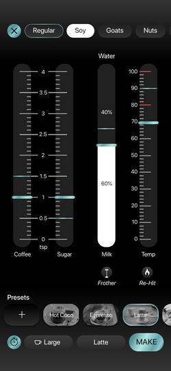 Latte Milk Changed
