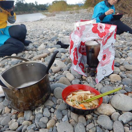 千曲川と秋の味覚