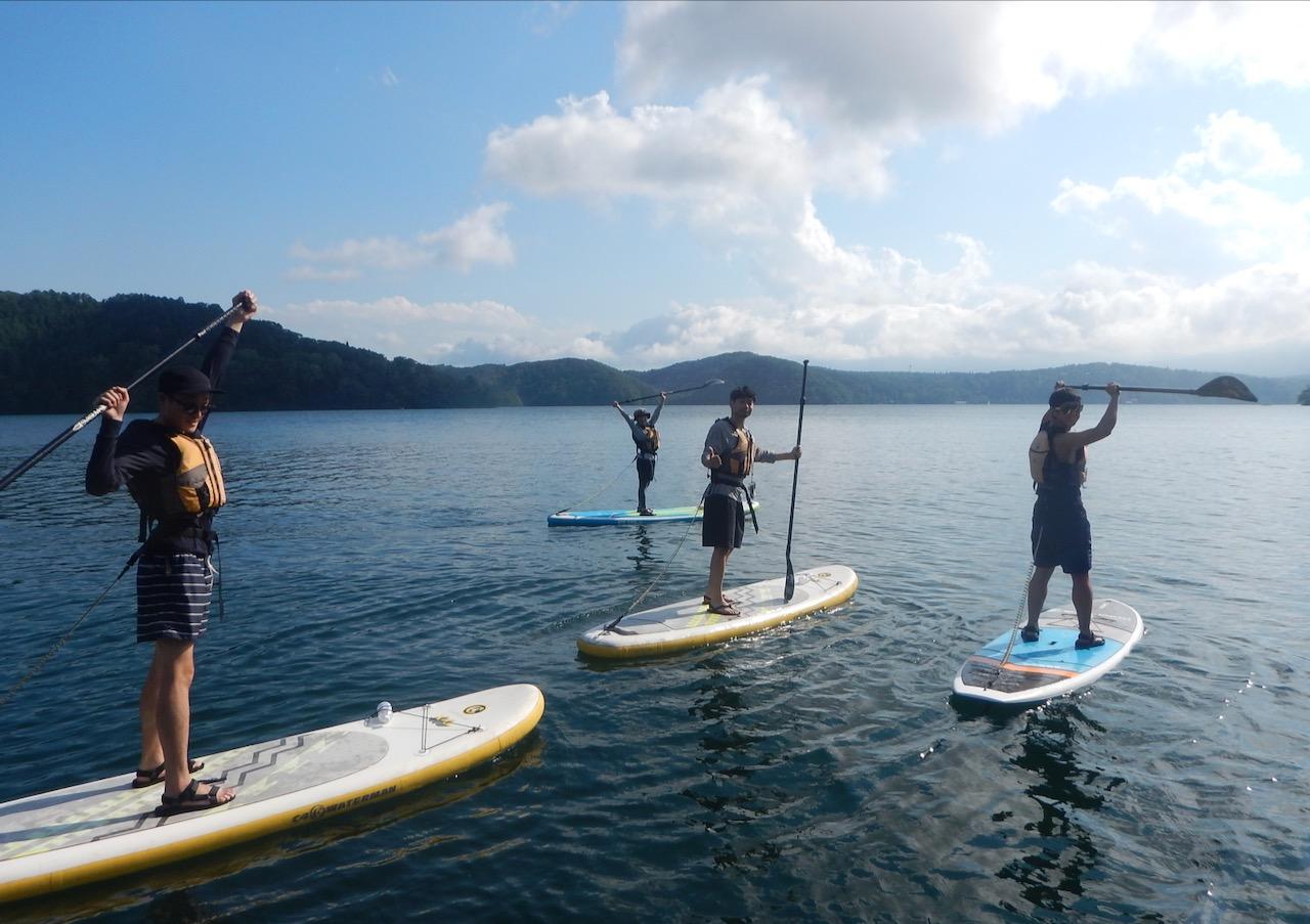 野尻湖SUP