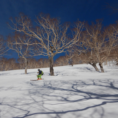 北信越の山を滑る3日間