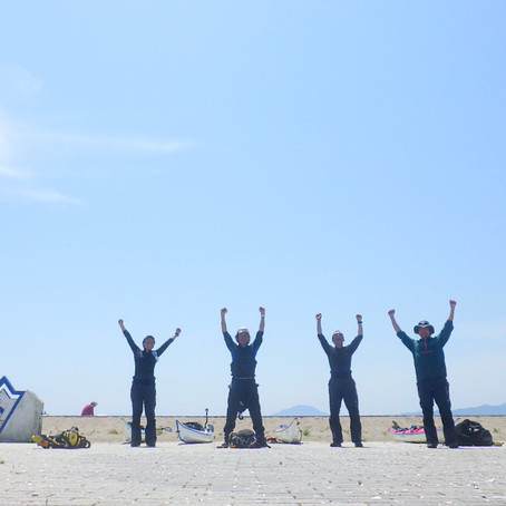 津軽海峡横断隊