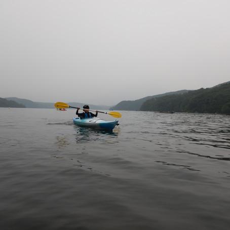 野尻湖ちょこっと体験カヤック