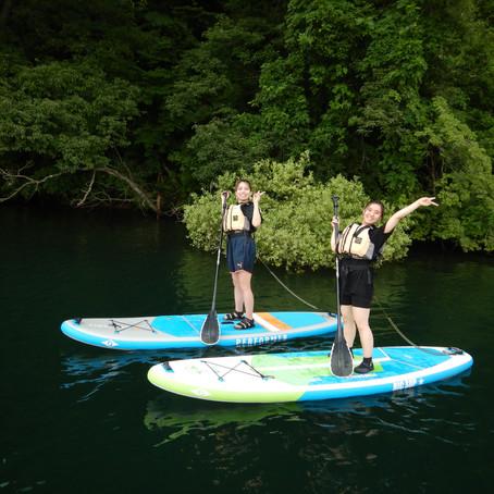 野尻湖ちょこっと体験SUP