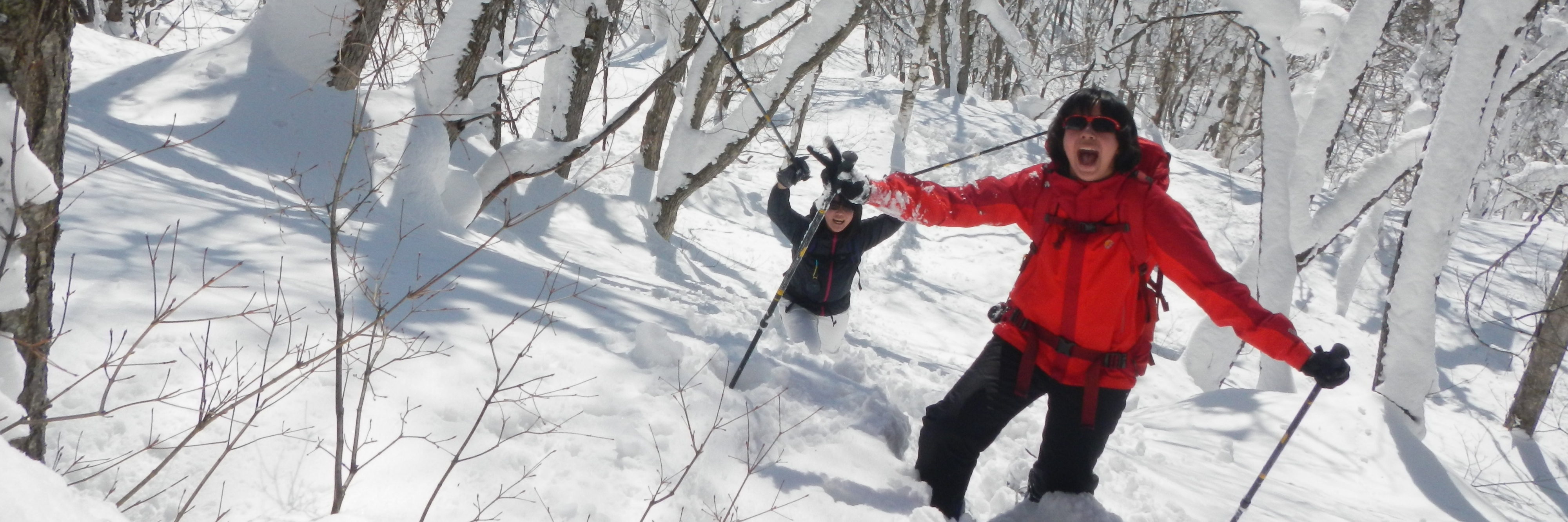 雪遊び最高!