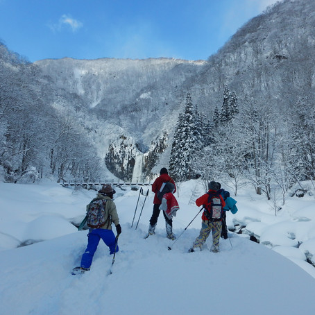 百名瀑を見よう! 苗名滝周遊コース